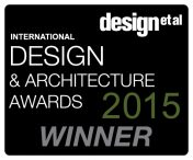 The logo for the International Design & Architecture Awards 2015